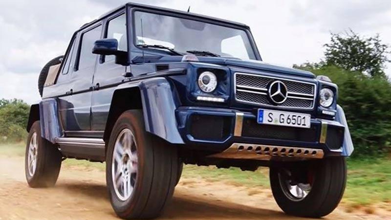Mercedes-Maybach G 650 Landaulet azul