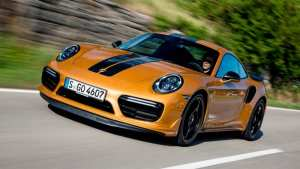 Porsche 911 Turbo S una serie limitada con mucha potencia