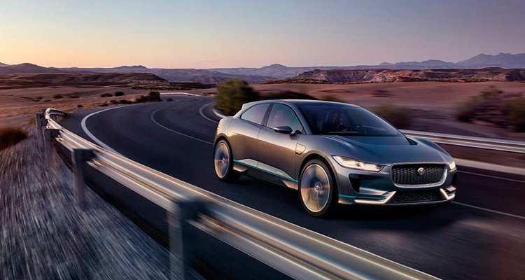 Jaguar I-Pace: recarga de las baterías en 45 minutos