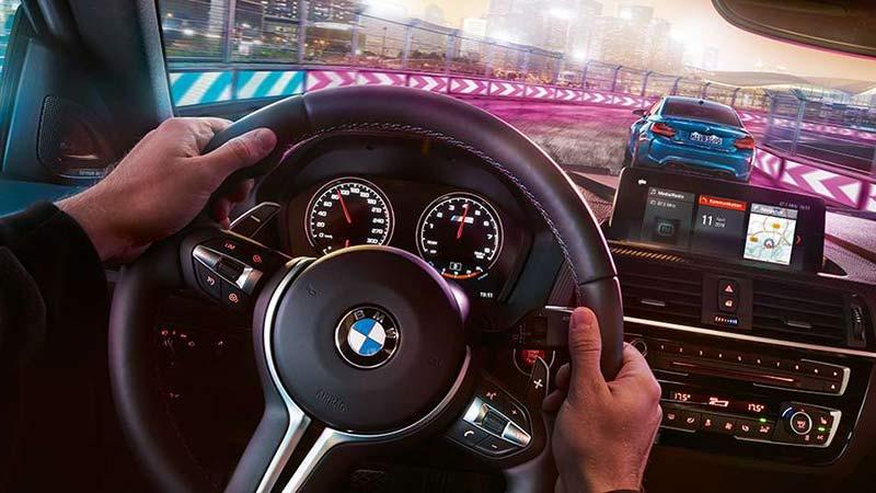 bmw m2 competition interior volante