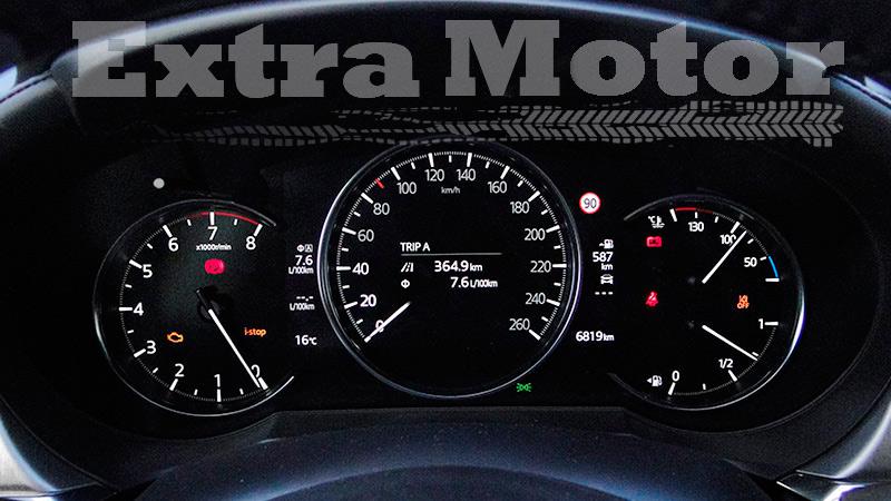 Prueba Mazda6 2018, detalle relojes