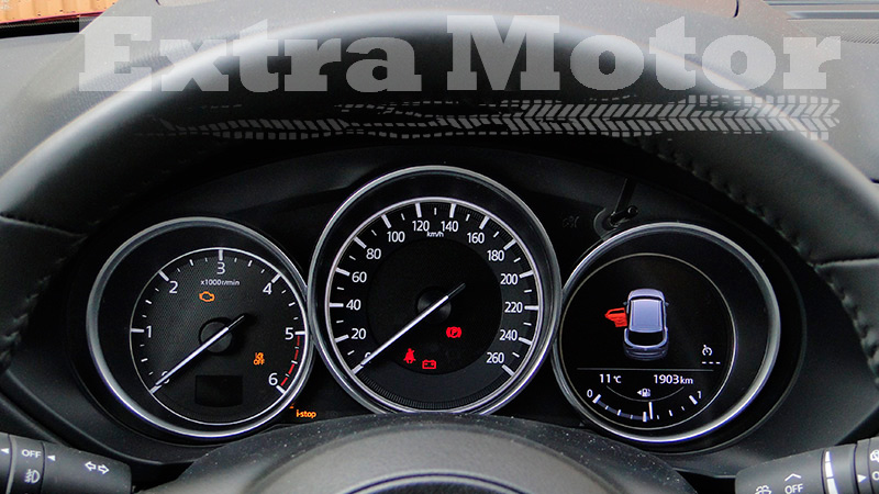 Prueba Mazda CX-5, relojes