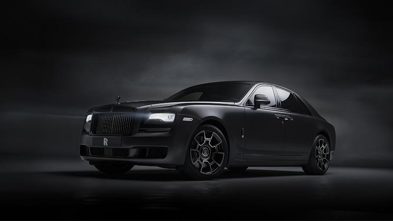 Salón de Ginebra 2019, Rolls-Royce Ghost Black Badge