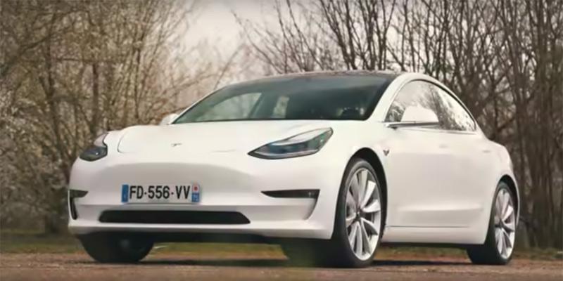Tesla Model 3, portada