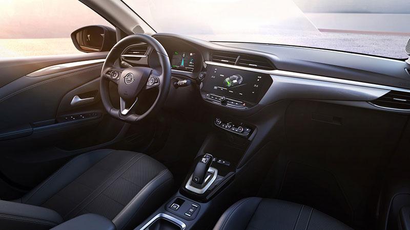 Interior del Opel Corsa-E
