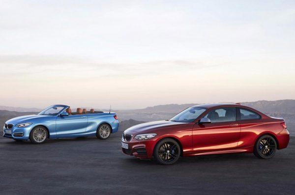 Modelos cabrio y coupé del BMW Serie 2