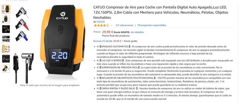 compresor de aire-comprar cosas para el coche